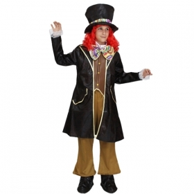 DRESS COSTUME Mask CARNIVAL - Boy THE mad HATTER