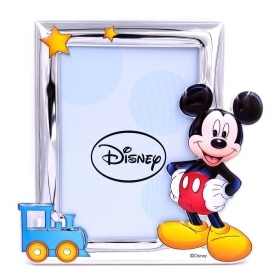 PHOTO FRAME in SILVER - DISNEY MICKEY mouse