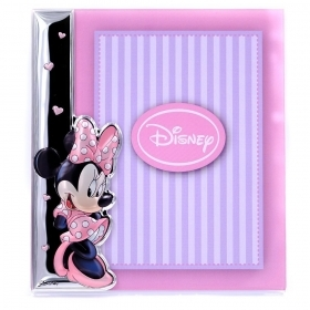 CORNICE PORTAFOTO in Plexiglass e ARGENTO - DISNEY MINNIE