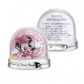 SNOW GLOBE PORTAFOTO DISNEY - MINNIE