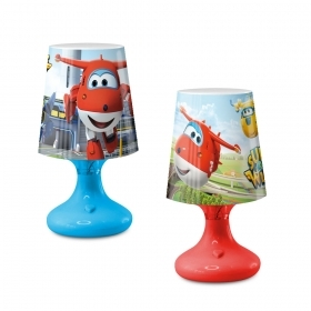 LED LAMP - SUPER WINGS - with Battery and On/Off Button