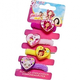 HAIR FERMATRECCINE ELASTIC 4 pieces DISNEY MIA and ME