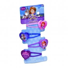 HAIR FERMATRECCINE CLIP 4 pieces DISNEY PRINCESS SOFIA