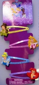 HAIR FERMATRECCINE CLIP-on 4-piece DISNEY PRINCESSES