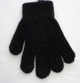 GLOVES FOR KIDS COLOR BLACK