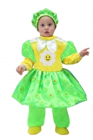 DRESS COSTUME CARNIVAL Mask NEWBORN - DAISY
