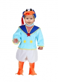DRESS COSTUME Mask CARNIVAL BABY - DONALD
