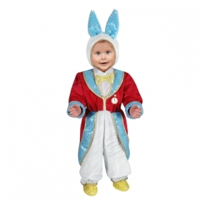 DRESS COSTUME CARNIVAL Mask CHILD - white RABBIT