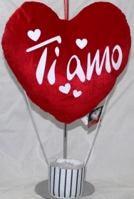 Fantastic HEART BALLOON in a Velvet - IDEA SAN VALENTIVO