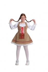 DRESS COSTUME CARNIVAL Mask girl - the BAVARIAN