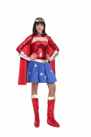 DRESS COSTUME CARNIVAL Mask Adult WONDER WOMAN