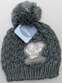 HAT with Pom poms DISNEY 7 Nani - CUCCIOLO - light grey