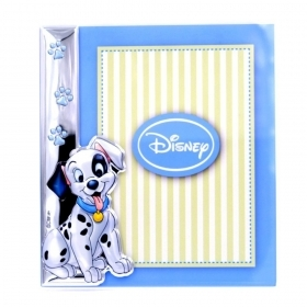 PHOTO FRAME in Plexiglas and SILVER - DISNEY - CHARGE 101