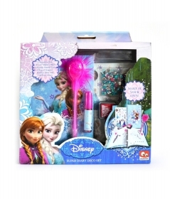 SET THE DIARY TO DECORATE THE DISNEY FROZEN - MAKE YOUR OWN