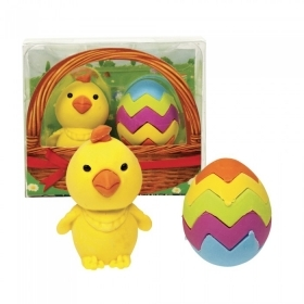 Eraser COLLECTION - IDEA CANDY AFTER the holiday - EGG and CHICK