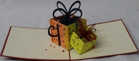 CARD GREETING - ORIGAMI - GIFT BOXES