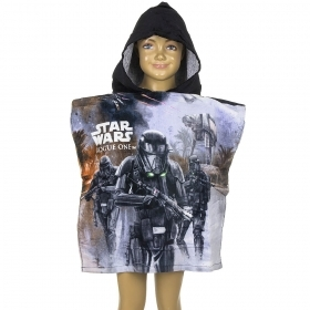 PONCHO BATHROBE-TOWEL - DISNEY -STAR WARS