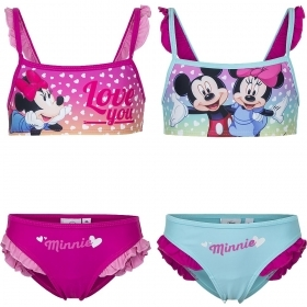 COSTUME MARE / Piscina 2 pezzi Bikini DISNEY MINNIE Love