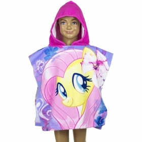 PONCHO BATHROBE BEACH TOWEL - MY LITTLE PONY