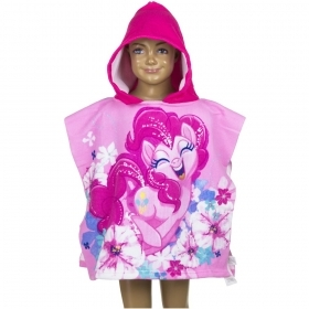 PONCHO BATHROBE beach TOWEL - MY LITTLE PONY to