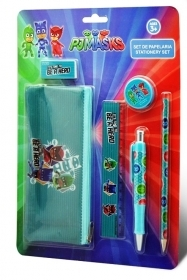 SET CANCELLERIA 6 pezzi - PJ MASKS - SUPER PIGIAMINI