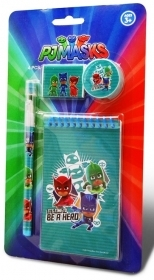 SET CANCELLERIA 4 pezzi - PJMASKS - SUPERPIGIAMINI