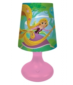 LED LAMP DISNEY RAPUNZEL - with Battery and On/Off Button