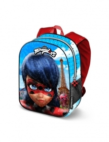 Folder Rucksack BACKPACK School Nursery 3D - MIRACULOUS LADYBUG 37394