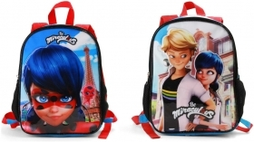 BAG BACKPACK RUCKSACK Nursery Reversible - MIRACULOUS LADYBUG