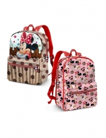 BAG BACKPACK RUCKSACK Nursery Reversible - DISNEY MINNIE