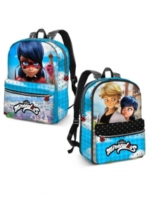 BAG BACKPACK Free Time-Reversible - MIRACULOUS LADYBUG