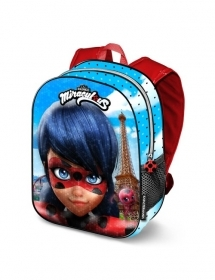 Folder Rucksack BACKPACK School 3D - MIRACULOUS LADYBUG 37393