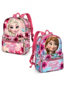 BAG BACKPACK Free Time-Reversible DISNEY FROZEN ELSA AND ANNA 37278