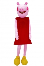 MASCOT Mask Costume PEPPA PIG