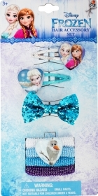 HAIR FERMATRECCINE ELASTIC 7 pcs DISNEY FROZEN Elsa and Anna