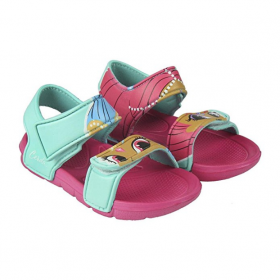 Sandals from beach, sea SHIMMER and SHINE