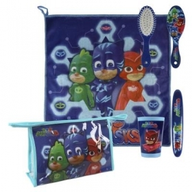 Beauty Case da viaggio con Accessori - PJMASKS SUPER PIGIAMINI a