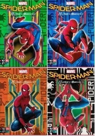 5 Quadernoni Notebooks and maxi/4 SEVEN - MARVEL SPIDERMAN HOMECOMING - Lining B