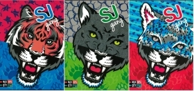 4 Quadernoni Notebooks and maxi/4 SEVEN - SJ GANG WILD FASHION - Lining B