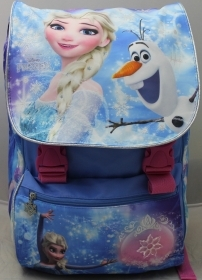 School BACKPACK Extensible - DISNEY FROZEN ELSA and more' DOLL