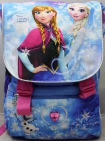 School BACKPACK Extensible - DISNEY FROZEN ELSA and ANNA more DOLL