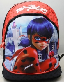 BACKPACK Free Time, School and Leisure Time - MIRACULOUS LADYBUG