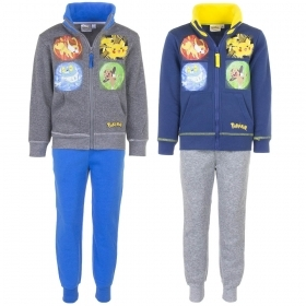 TRACKSUIT two-PIECES - POKEMON 4 5 6 8 10 12 years