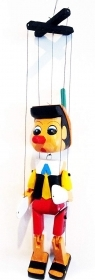 The puppet / Marionette Carved in WOOD PINOCCHIO 15 CM