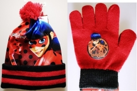 Fantastic Set of HAT and GLOVES - MIRACULOUS - LADYBUG