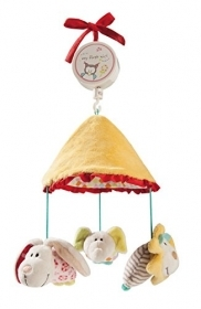 MOBILE FOR COT WITH PLUSH NICI - My First Baby bunny, Elephant, Lion