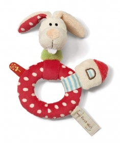 PLUSH RATTLE My First NICI - BUNNY