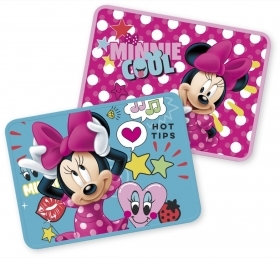 2 PLACEMATS FOLDING TABLE - DISNEY MINNIE