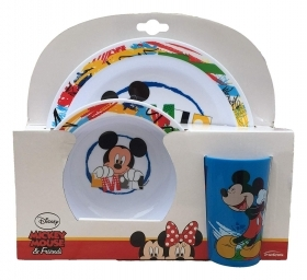 SET JELLY In the Melanin - Dishes and Glass DISNEY MICKEY MICKEY mouse