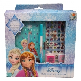 SECRET DIARY with ACCESSORIES DISNEY FROZEN Elsa and Anna